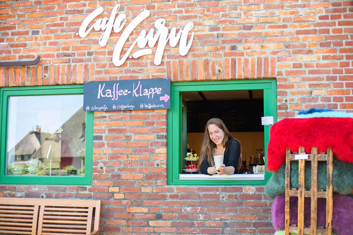 Café Curve Kaffeekurve Braderup Sylt