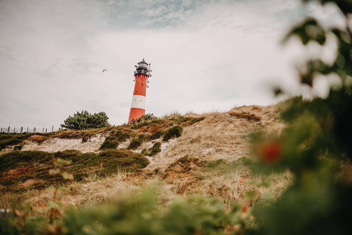 Leuchttürme auf Sylt: Leuchtturm in hörnum