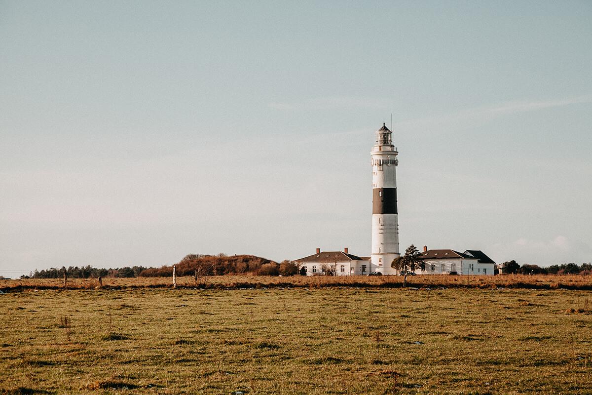 Leuchttürme auf Sylt: Leuchtturm Kampen
