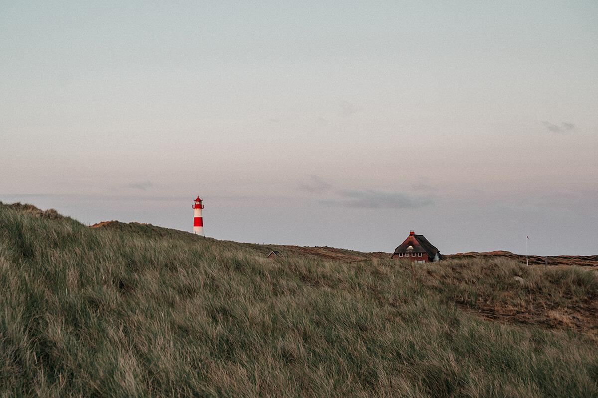Leuchttürme auf Sylt: Leuchtturm List-Ost