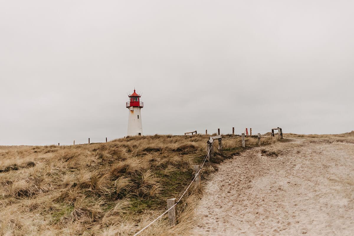 Leuchttürme auf Sylt: Leuchtturm List-West