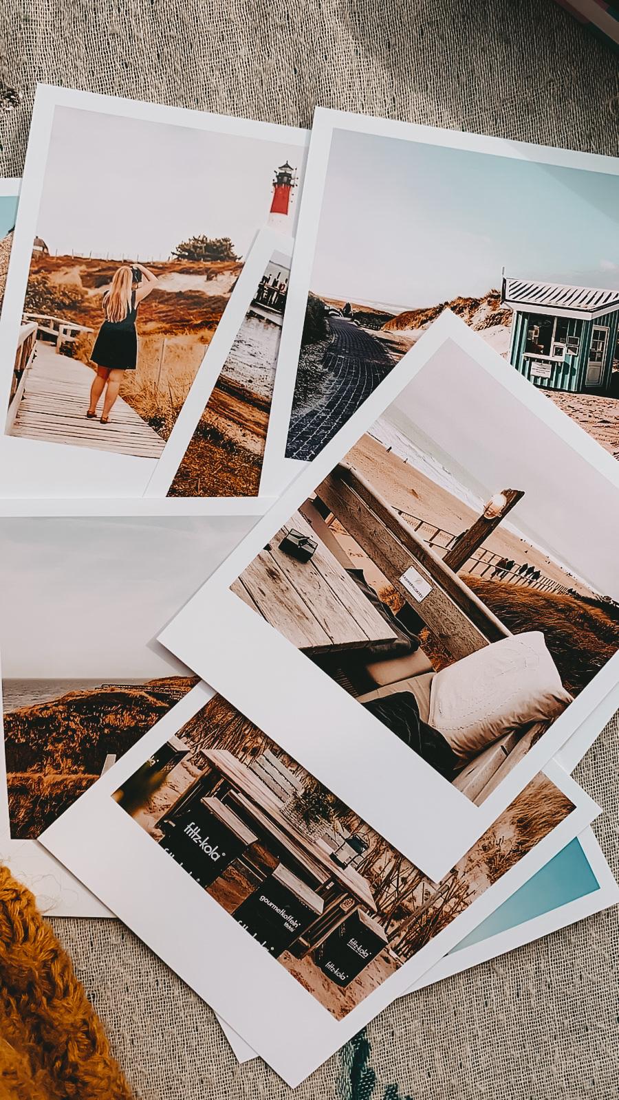 Sylt für Zuhause: 4 schöne Foto-DIYs mit deinen Inselbildern: Polaroids