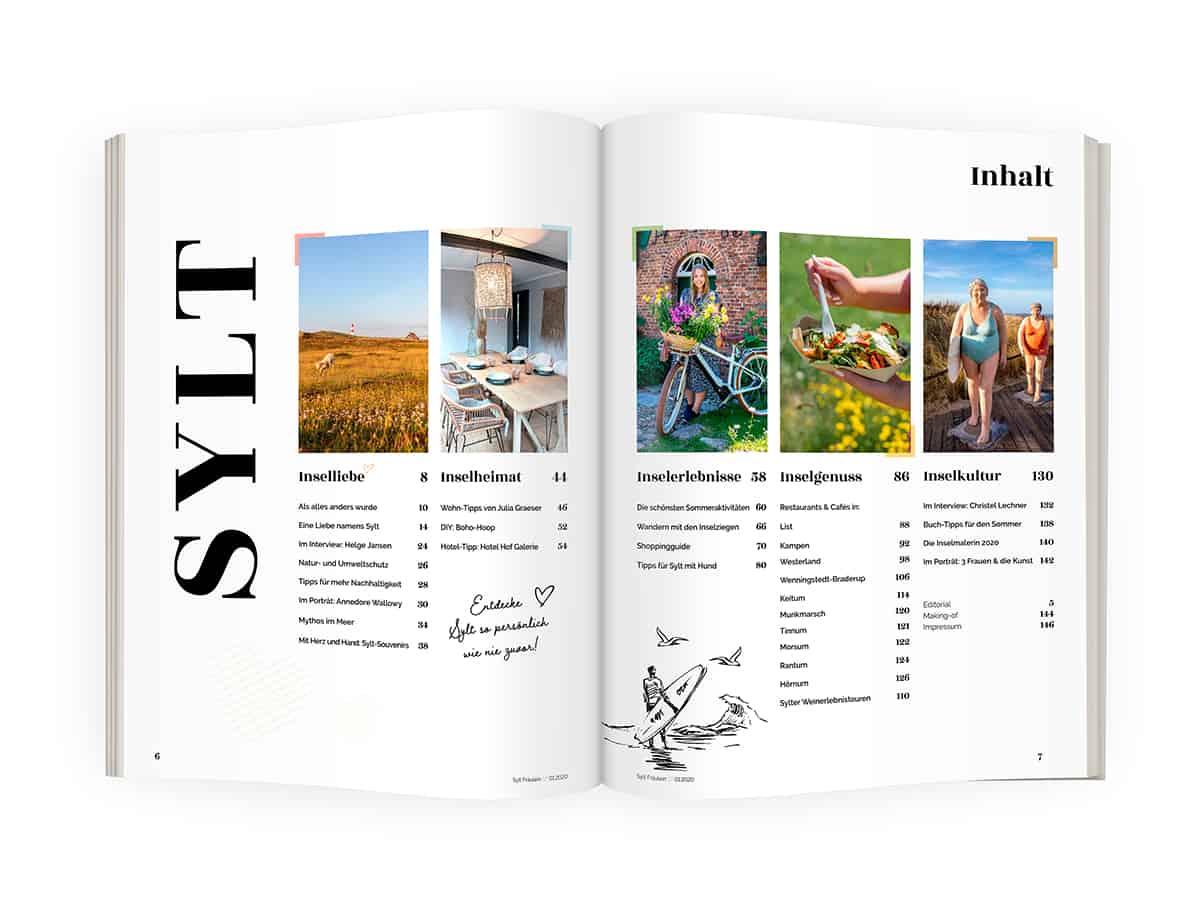 Sylt Fräulein Magazin Inhalt