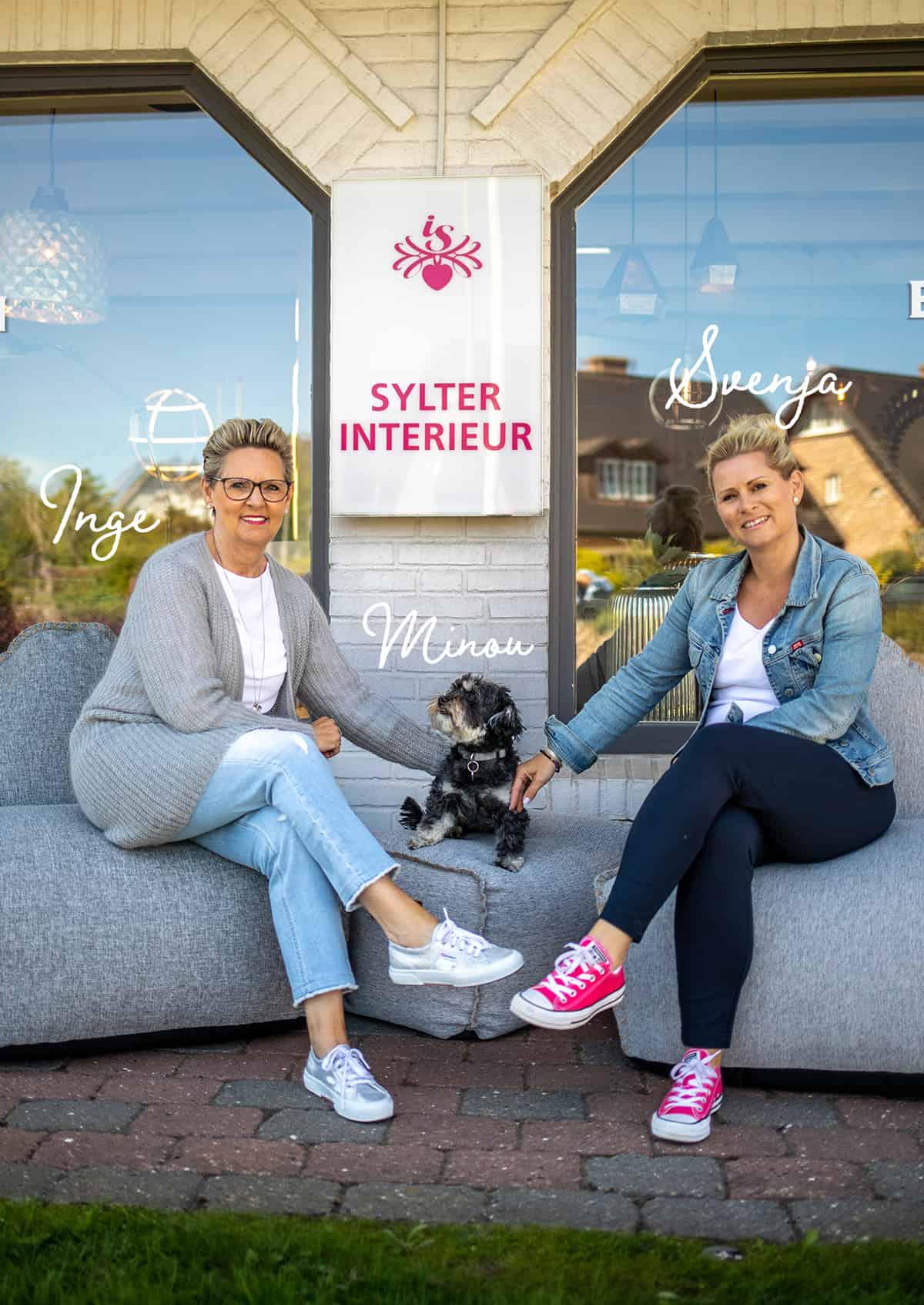 Sylter Interieur: Inge Sievers und Svenja Sievers-Jacobs