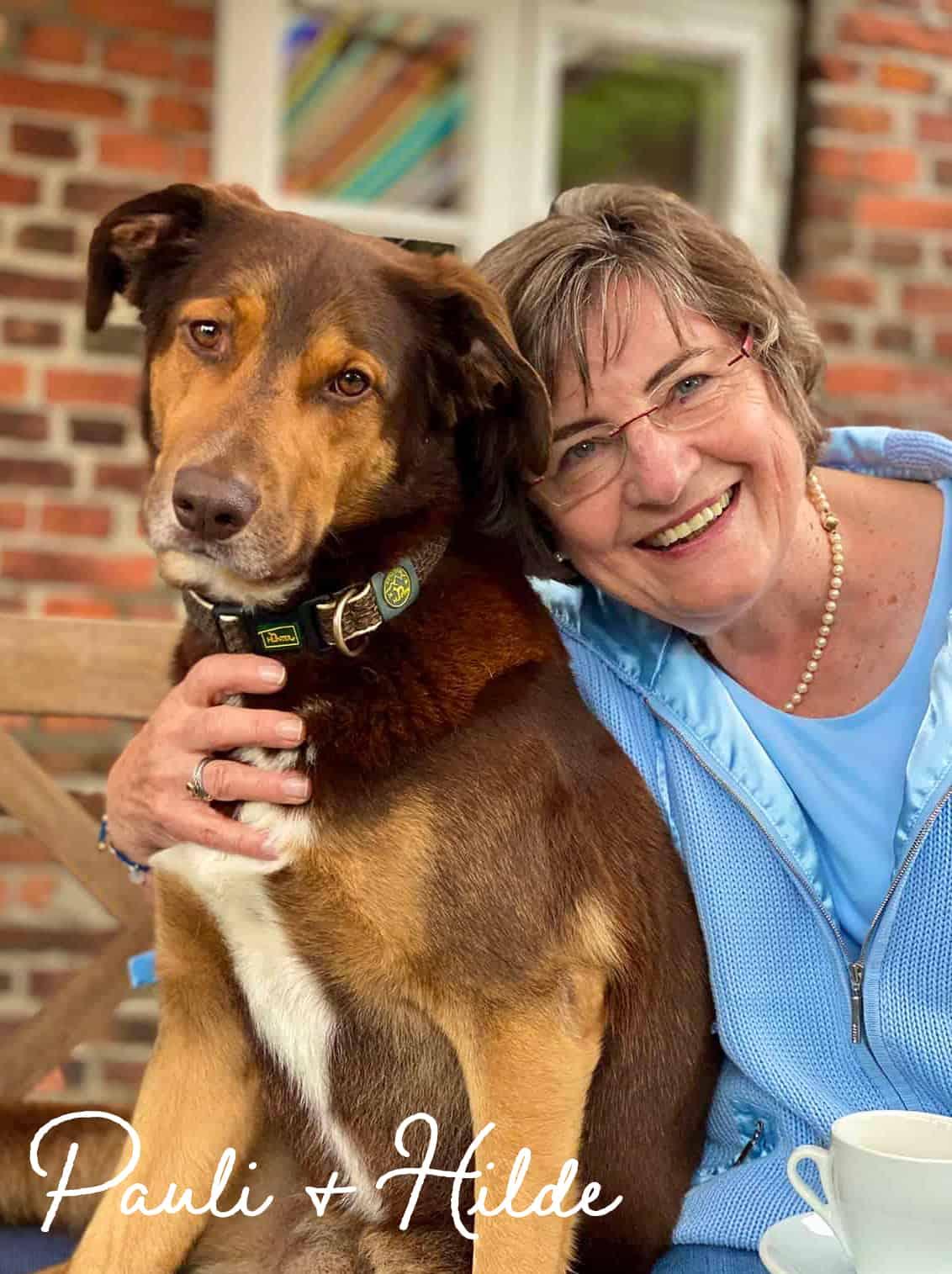 AFJ love Keitum: Hund Pauli und Hilde Börgers