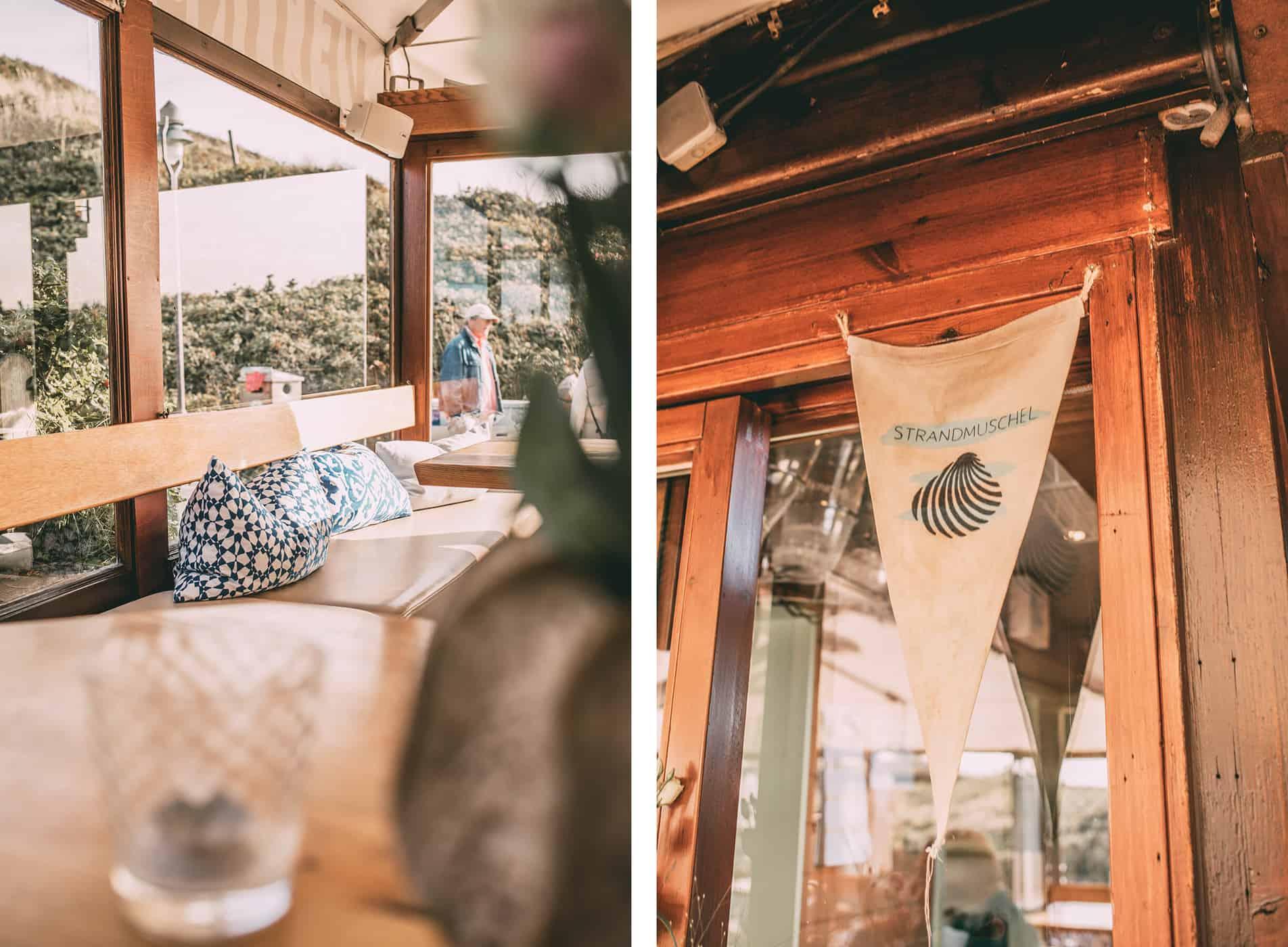 Strandmuschel Rantum Restaurant am Hauptstrand