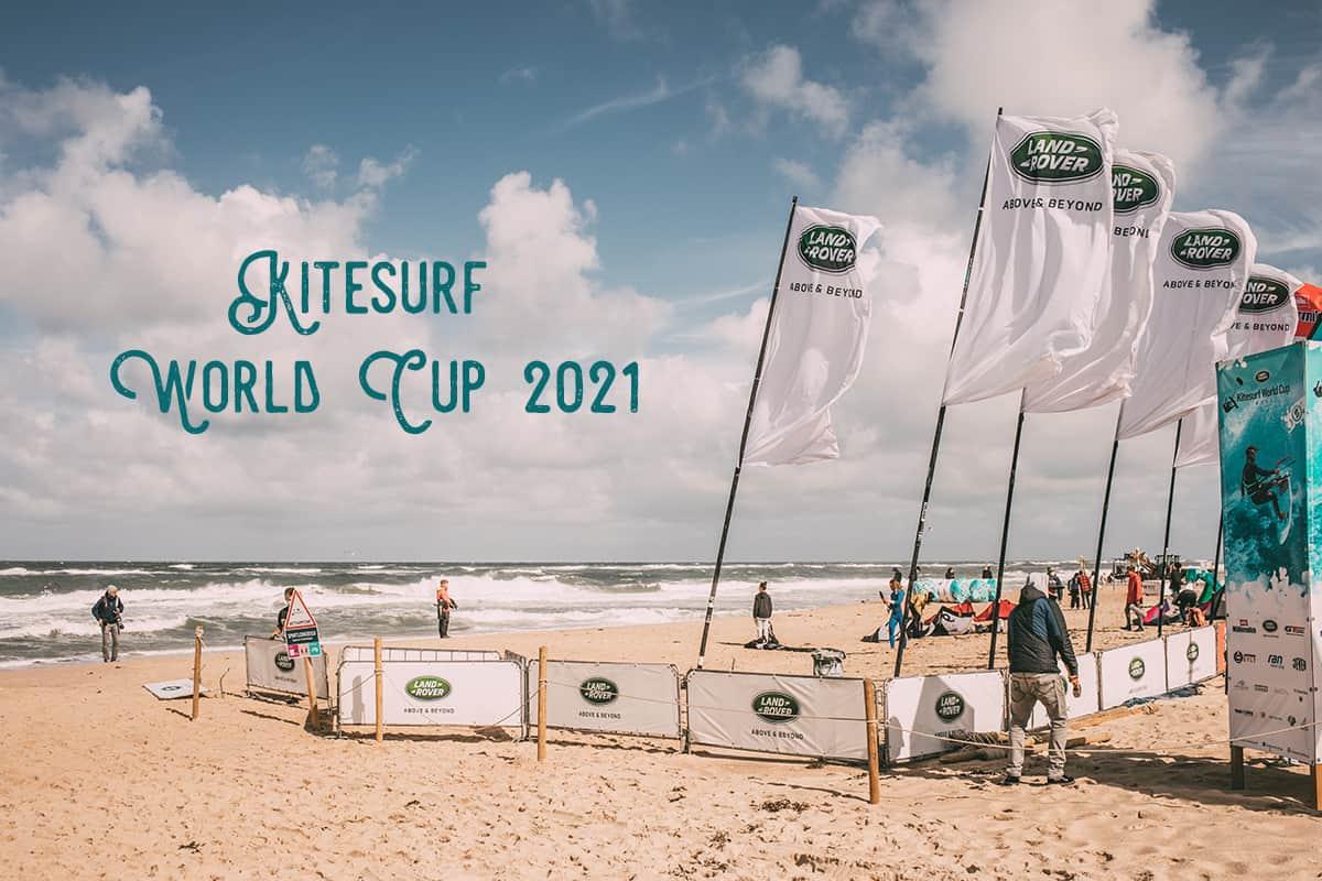 Sylt Fräulein auf dem Land Rover Kitesurf World Cup Sylt 2021