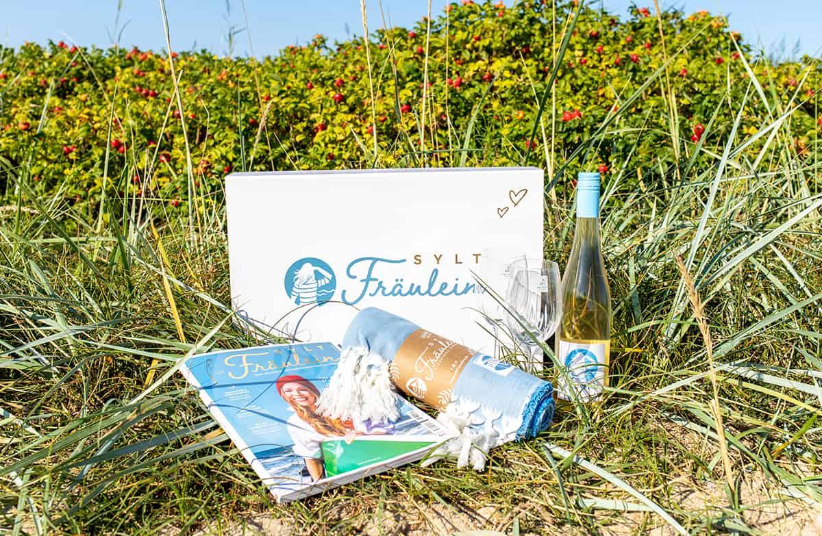 Sylt Fräulein Strandbox Geschenkbox